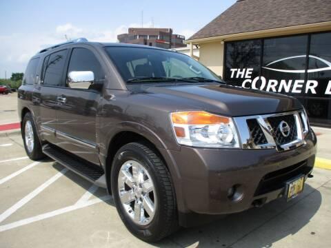 2014 Nissan Armada for sale at Cornerlot.net in Bryan TX