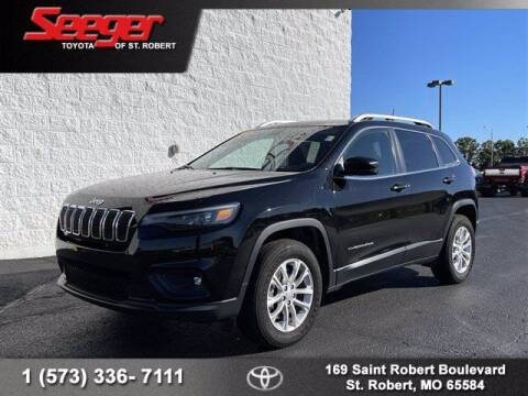 2019 Jeep Cherokee for sale at SEEGER TOYOTA OF ST ROBERT in Saint Robert MO