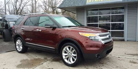 2015 Ford Explorer for sale at Kevin Lapp Motors in Plymouth MI