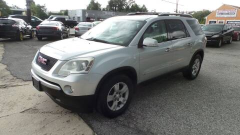 2009 GMC Acadia for sale at Unlimited Auto Sales in Upper Marlboro MD
