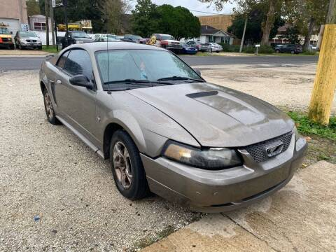 2002 Ford Mustang for sale at WMS AUTO SALES in Jefferson LA
