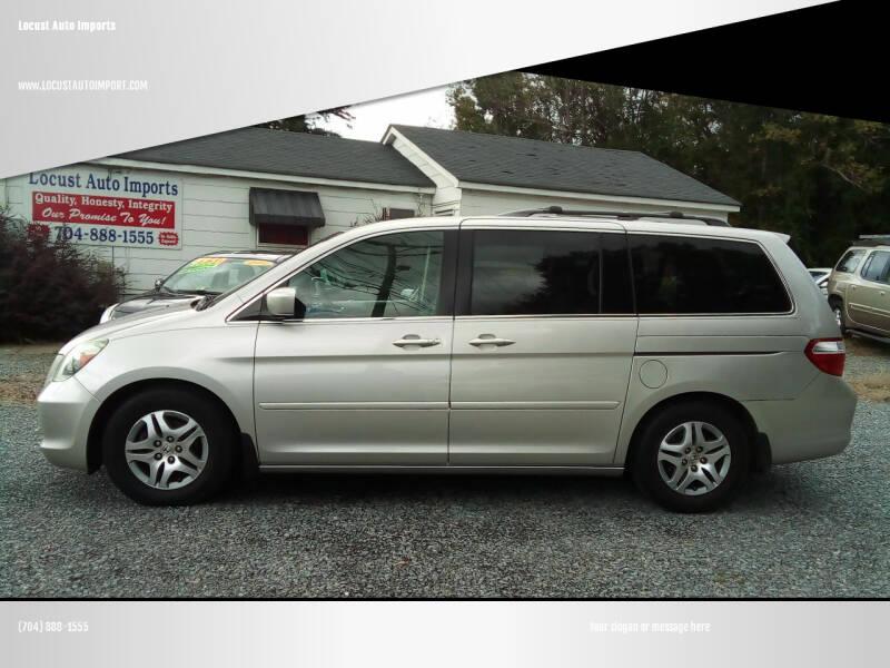 2007 Honda Odyssey for sale at Locust Auto Imports in Locust NC