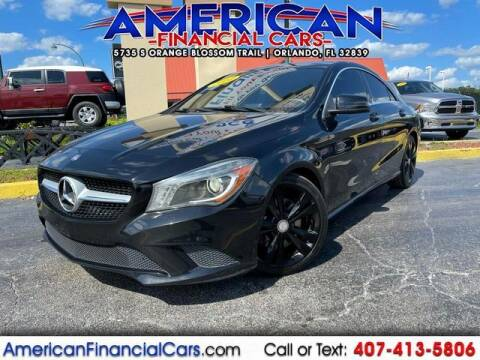 2014 Mercedes-Benz CLA for sale at American Financial Cars in Orlando FL