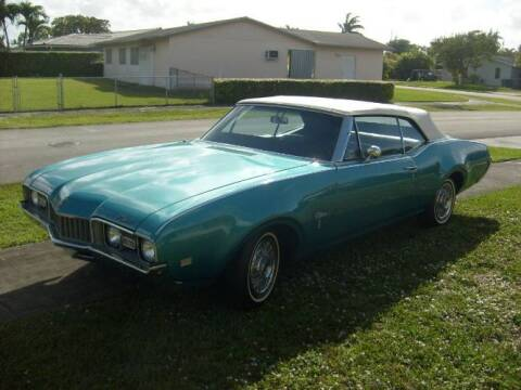 1968 Oldsmobile Custom Cruiser for sale at Classic Car Deals in Cadillac MI