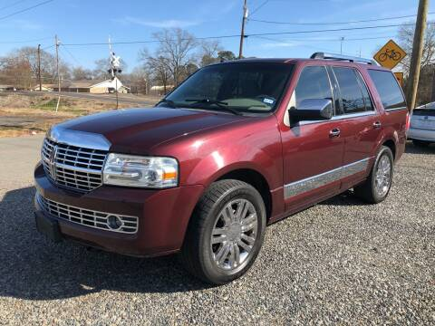 2010 Lincoln Navigator for sale at BLANCHARD AUTO SALES in Shreveport LA