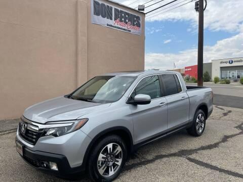 2019 Honda Ridgeline for sale at Don Reeves Auto Center in Farmington NM