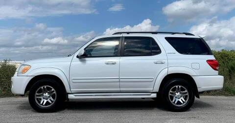 2005 Toyota Sequoia for sale at Palmer Auto Sales in Rosenberg TX