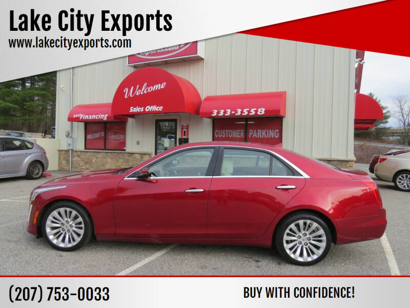 2014 Cadillac CTS for sale at Lake City Exports in Auburn ME