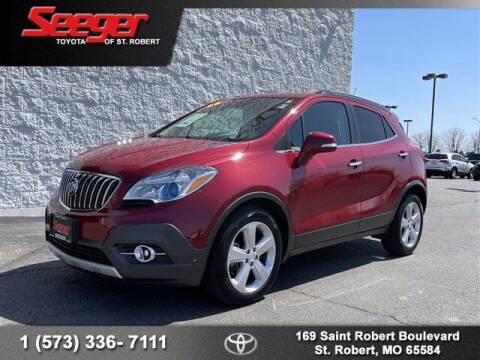 2015 Buick Encore for sale at SEEGER TOYOTA OF ST ROBERT in St Robert MO