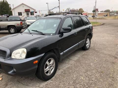 2003 Hyundai Santa Fe for sale at Marti Motors Inc in Madison IL
