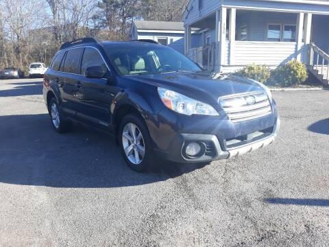 2013 Subaru Outback for sale at Select Luxury Motors in Cumming GA