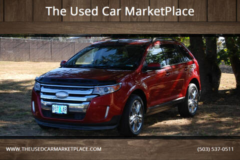 2012 Ford Edge for sale at The Used Car MarketPlace in Newberg OR