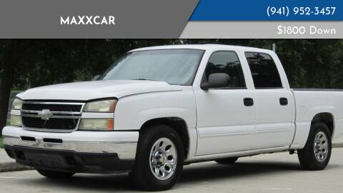 2006 Chevrolet Silverado 1500 for sale at MaxxCar in Sarasota FL