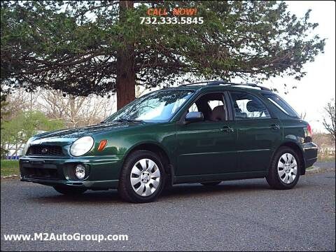 2002 Subaru Impreza for sale at M2 Auto Group Llc. EAST BRUNSWICK in East Brunswick NJ