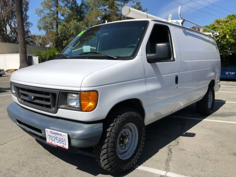 2005 Ford E-Series Cargo for sale at Martinez Truck and Auto Sales in Martinez CA