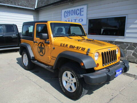 2012 Jeep Wrangler for sale at Choice Auto in Carroll IA