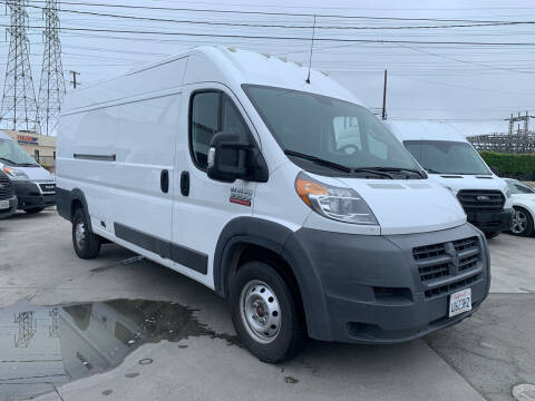 2017 RAM ProMaster Cargo for sale at Best Buy Quality Cars in Bellflower CA