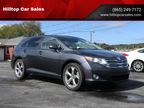 2010 Toyota Venza for sale at Hilltop Car Sales in Knox TN