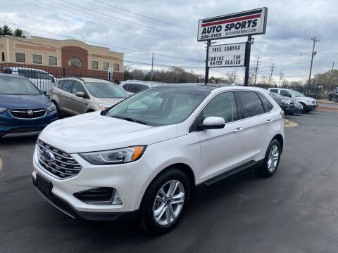 2019 Ford Edge for sale at Auto Sports in Hickory NC