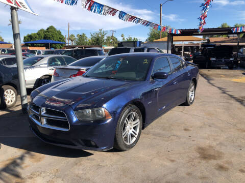 2014 Dodge Charger for sale at Valley Auto Center in Phoenix AZ