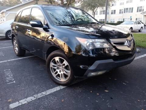2009 Acura MDX for sale at Royal Auto Mart in Tampa FL