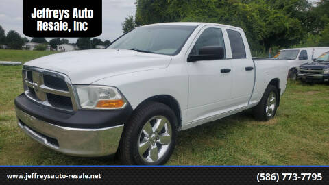 2011 RAM Ram Pickup 1500 for sale at Jeffreys Auto Resale, Inc in Clinton Township MI