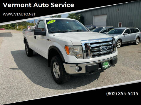 2011 Ford F-150 for sale at Vermont Auto Service in South Burlington VT
