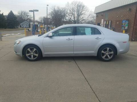 2012 Chevrolet Malibu for sale at RIVERSIDE AUTO SALES in Sioux City IA