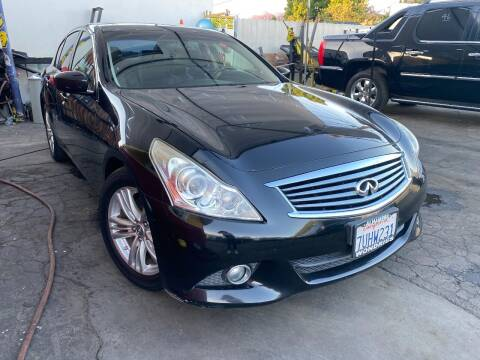 2013 Infiniti G37 Sedan for sale at Crown Auto Inc in South Gate CA