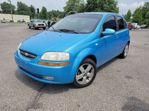 2007 Chevrolet Aveo for sale at Cruisin' Auto Sales in Madison IN