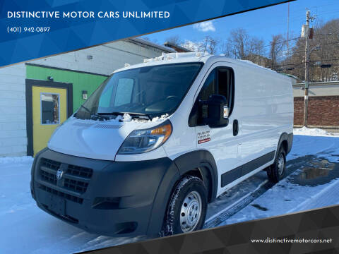 2016 RAM ProMaster Cargo for sale at DISTINCTIVE MOTOR CARS UNLIMITED in Johnston RI
