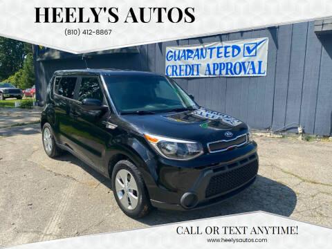 2014 Kia Soul for sale at Heely's Autos in Lexington MI