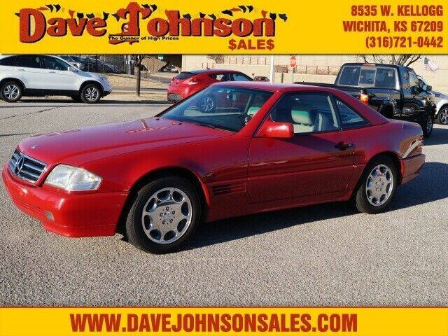 1994 Mercedes-Benz SL-Class for sale at Dave Johnson Sales in Wichita KS