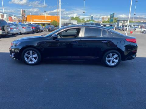 2014 Kia Optima for sale at Henry's Autosales, LLC in Reno NV