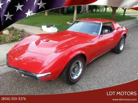 1968 Chevrolet Corvette for sale at LDT MOTORS in Amarillo TX