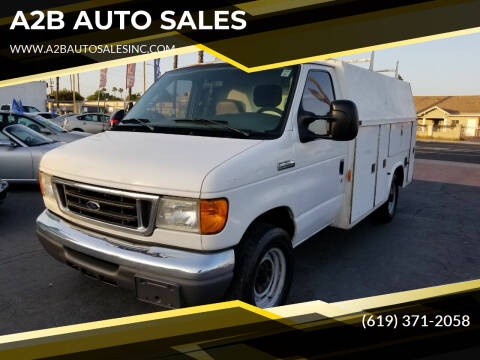 2006 Ford E-Series Chassis for sale at A2B AUTO SALES in Chula Vista CA