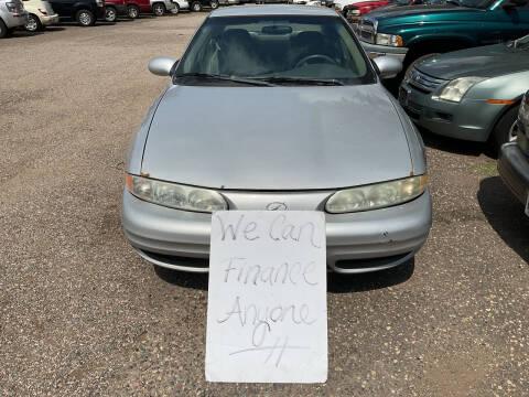 2001 Oldsmobile Alero for sale at Continental Auto Sales in White Bear Lake MN