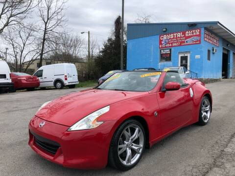 2010 Nissan 370Z for sale at Crystal Auto Sales Inc in Nashville TN