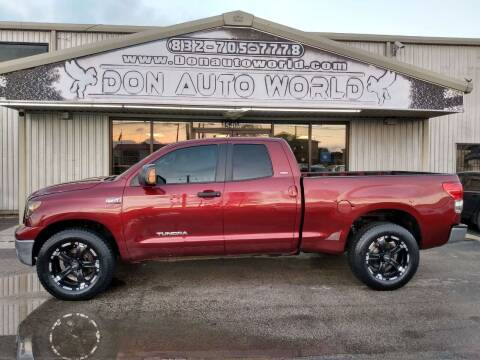 2008 Toyota Tundra for sale at Don Auto World in Houston TX