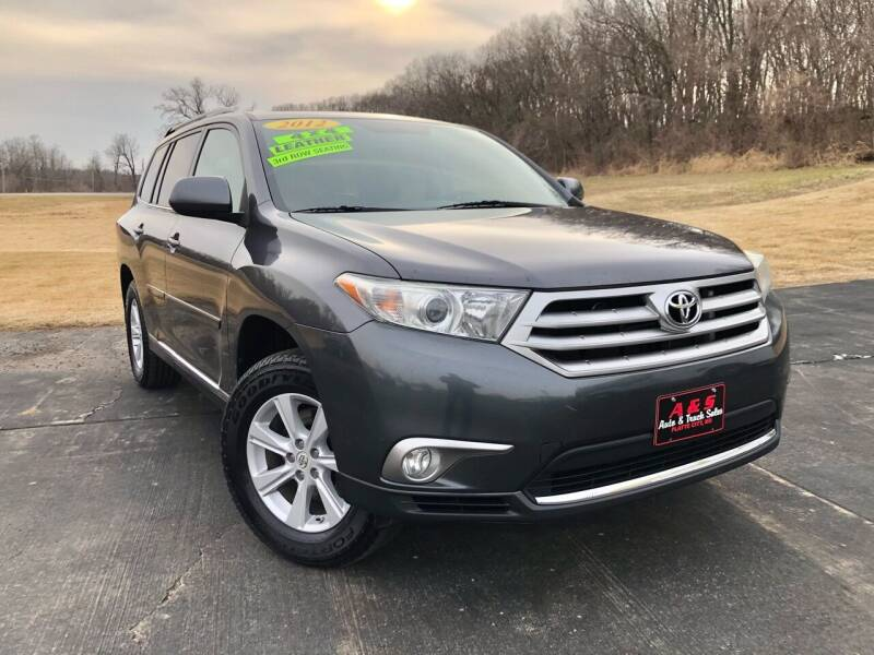 2012 Toyota Highlander for sale at A & S Auto and Truck Sales in Platte City MO