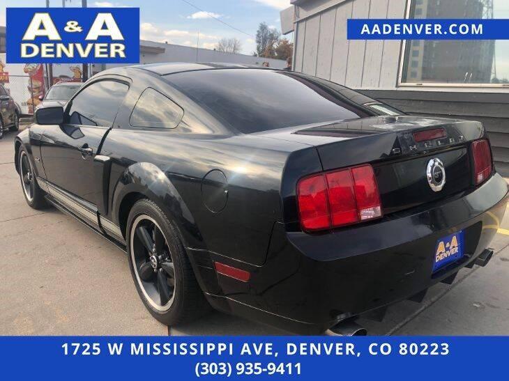 2007 Ford Mustang GT Deluxe 2dr Fastback - Denver CO
