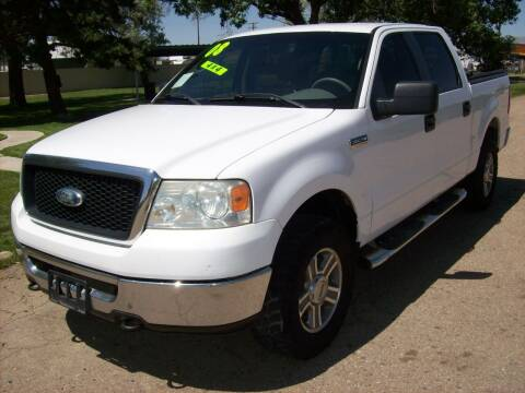 2008 Ford F-150 for sale at EVANS AUTO SERVICE & SALES in Fort Lupton CO