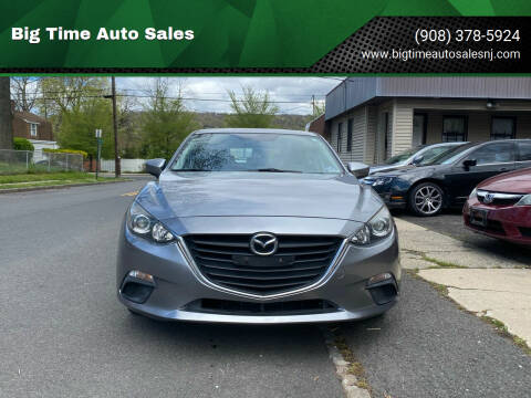 2014 Mazda MAZDA3 for sale at Big Time Auto Sales in Vauxhall NJ