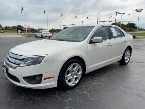 2010 Ford Fusion for sale at Browning's Reliable Cars & Trucks in Wichita Falls TX