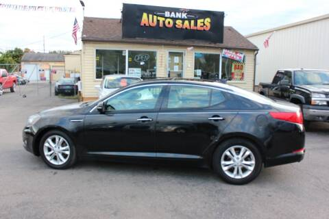 2013 Kia Optima for sale at BANK AUTO SALES in Wayne MI