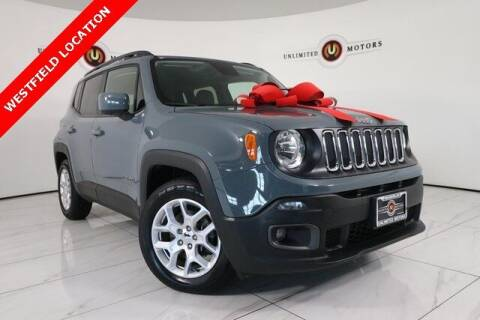 2018 Jeep Renegade for sale at INDY'S UNLIMITED MOTORS - UNLIMITED MOTORS in Westfield IN