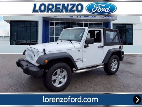 2012 Jeep Wrangler for sale at Lorenzo Ford in Homestead FL