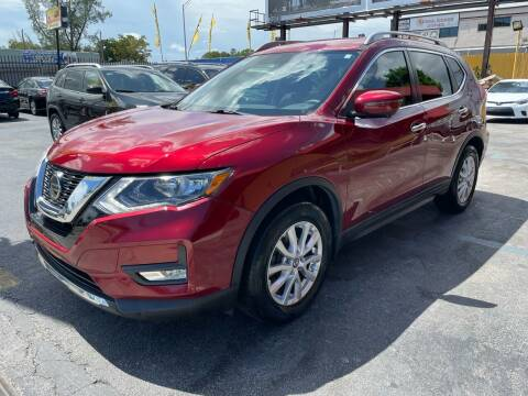 2018 Nissan Rogue for sale at AUTO ALLIANCE LLC in Miami FL