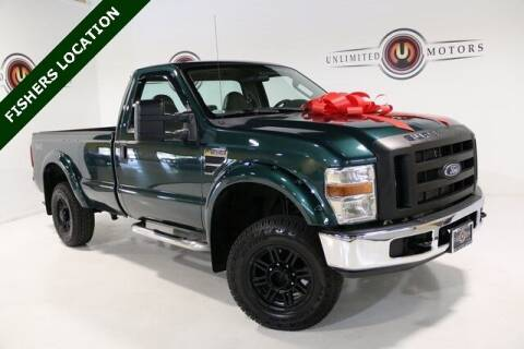 2008 Ford F-250 Super Duty for sale at Unlimited Motors in Fishers IN