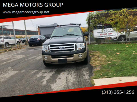 2012 Ford Expedition for sale at MEGA MOTORS GROUP in Redford MI